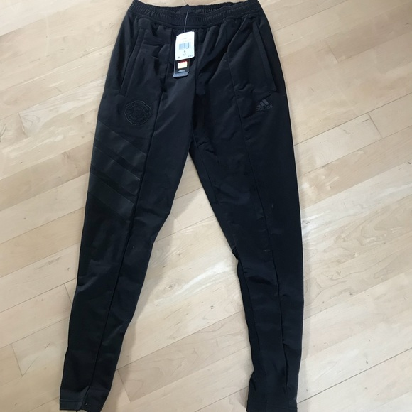 Men S Manchester United Adidas Track Pants Nwt